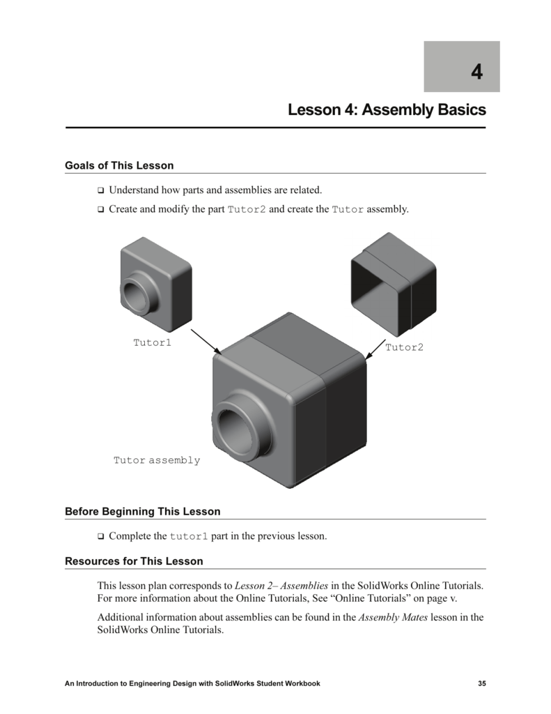 Lesson 4: Assembly Basics