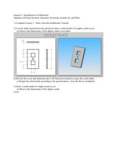 SolidWorks Outline