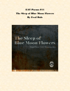 The Sleep of Blue Moon Flowers Album Notes