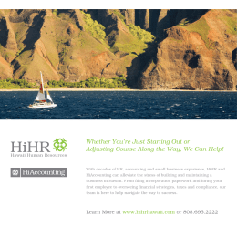 HiAccounting : Hawaii Accounting and Bookkeeping