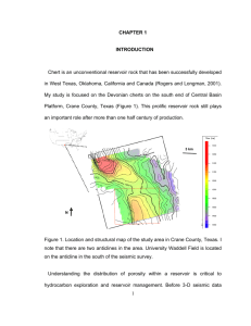 Rock Properties and Seismic Response of Chert Reservoirs, the