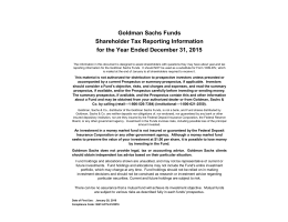 2015 Shareholder Tax Reporting Information (Blue book)