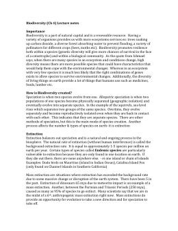 Modern Biology Study Guide Biodiversity - lindgrenscafe.com