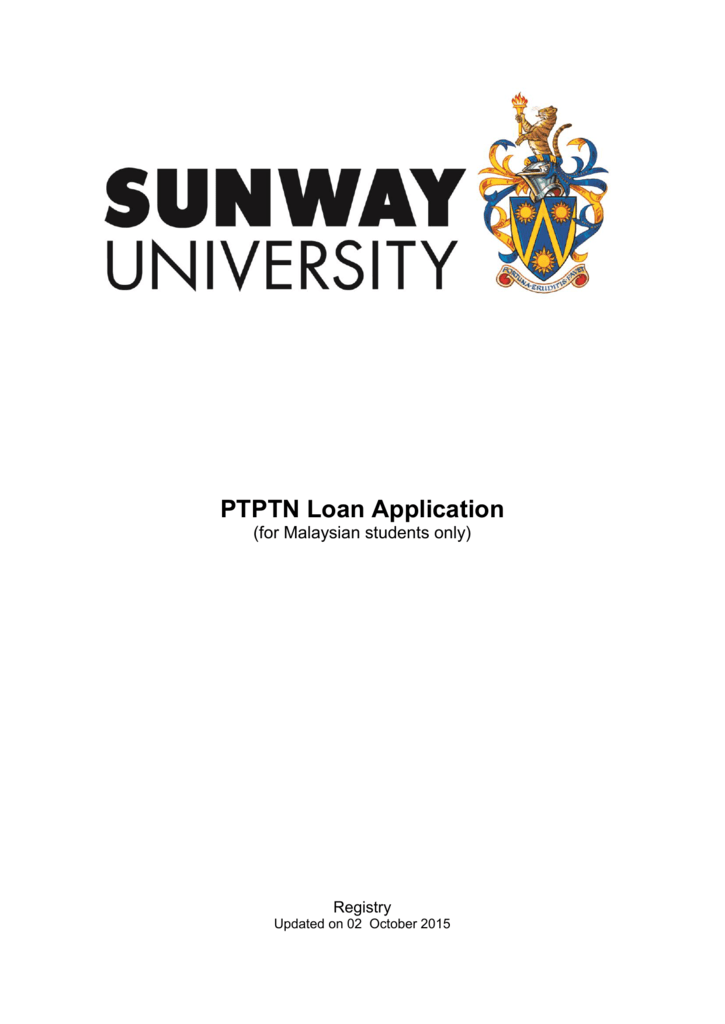 2 Conditions To Apply For Ptptn Loan
