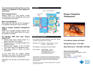 Dengue Outpatient Management