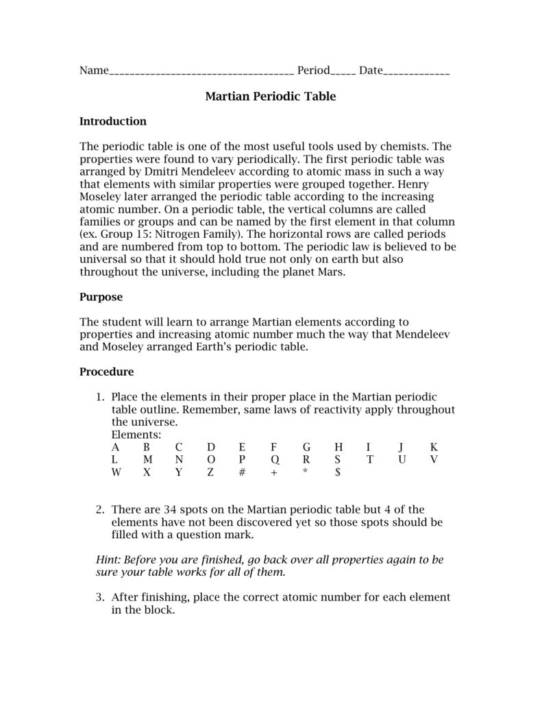 Martian periodic table 0087499631 3040825f1cd3ec51ac395133a32b1023g ibookread ePUb