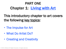 Chapter 1 Living with Art