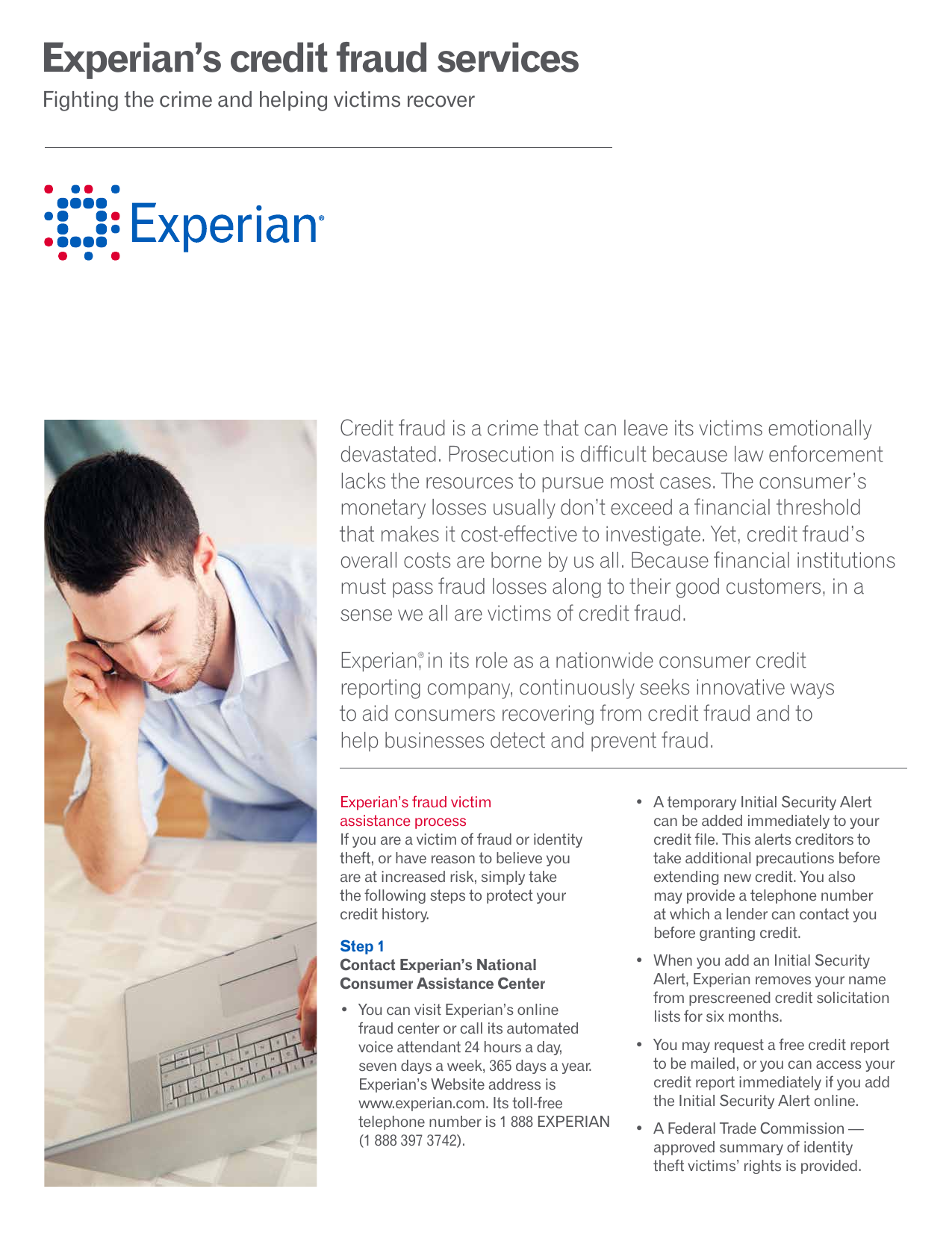 Experian S Credit Fraud Services