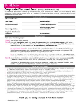 T mobile early termination fee reimbursement form
