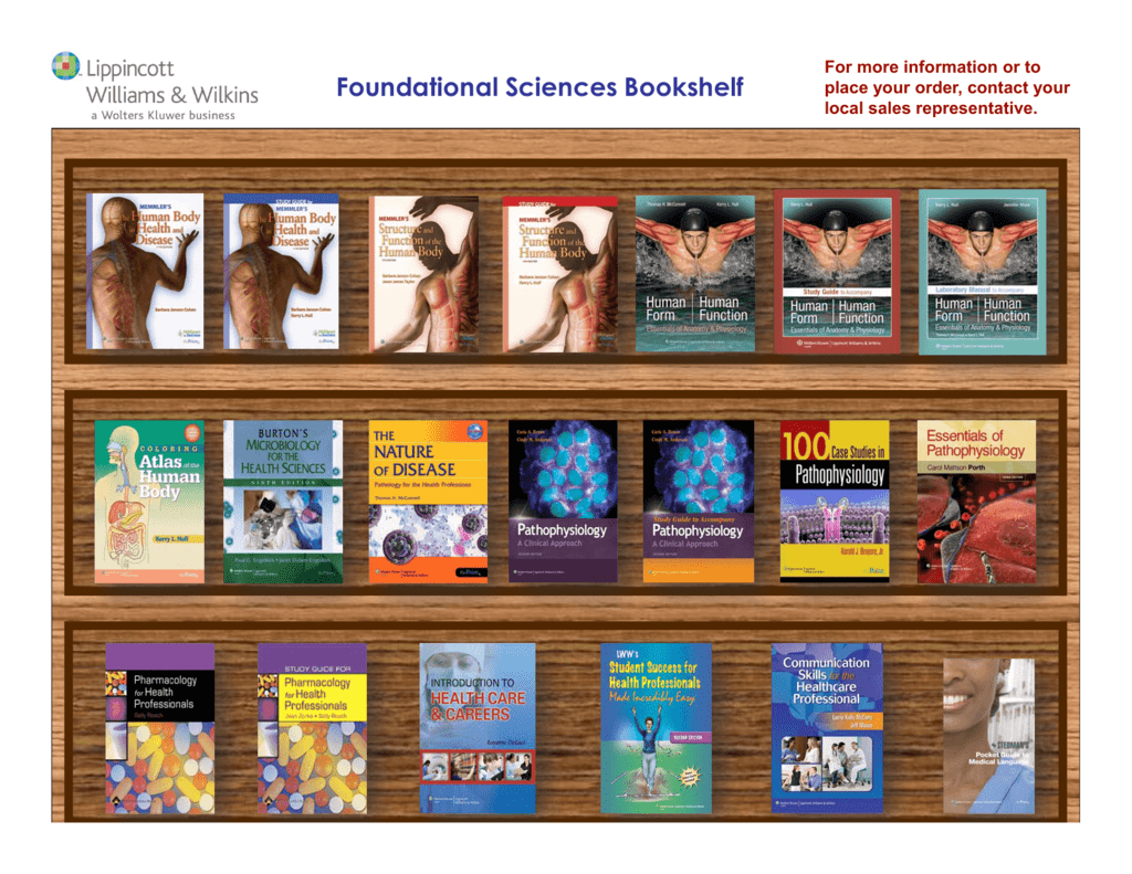 Foundational Sciences Bookshelf