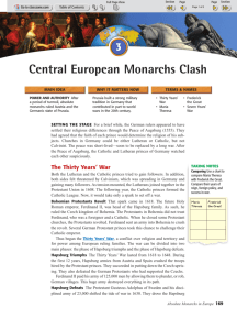 Chapter 5.3 - Central European Monarchs Clash