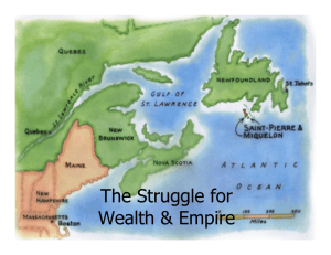 The Struggle for Wealth & Empire