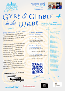 Gyre and Gimble in the Wabe