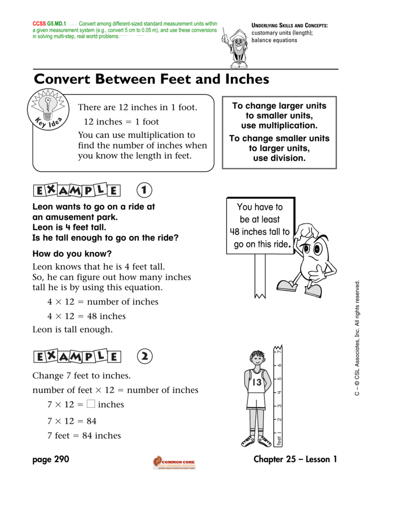 Inches to feet conversion chart image collections chart example conversion  chart feet to miles gallery chart