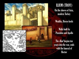 ILIUM (TROY) - MythologyTeacher.com