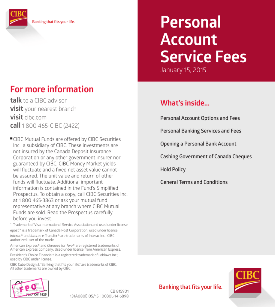 Phenomenal Personal Account Service Fees Wiring Digital Resources Funapmognl