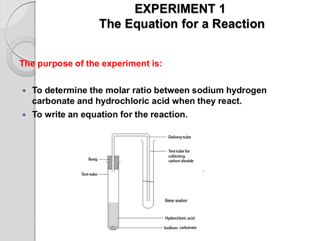 Balanced Chemical Equation For The Reaction Of Sodium ...