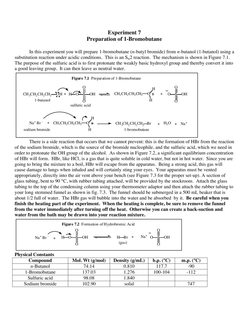 solvolysis of t-butyl chloride lab report