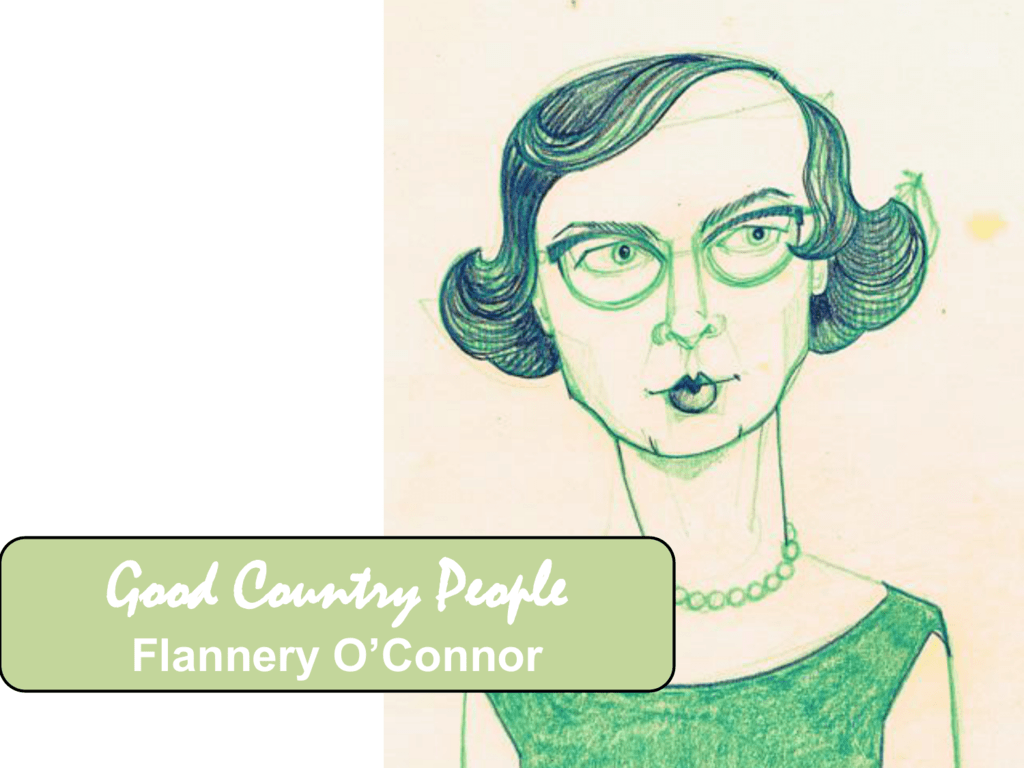 critical essays on good country people