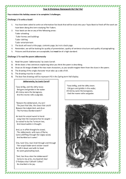 Year 6-Christmas Homework