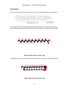 Background: Molecular Dimensions Introduction
