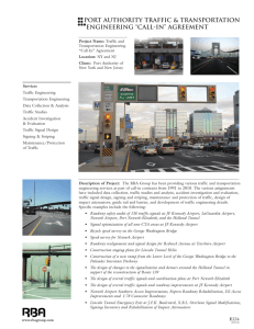 Port Authority Traffic & Transportation Engineering