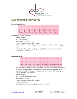 ecg s made easy rh studylib net  heart rhythm study guide