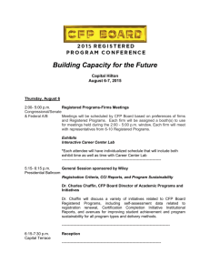 Building Capacity for the Future