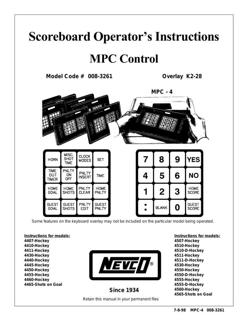 Scoreboard Operators Instructions Simple Countdown Timer On Using Cd4510