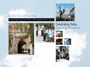 Celebrating Today ILLINOIS MEDICINE