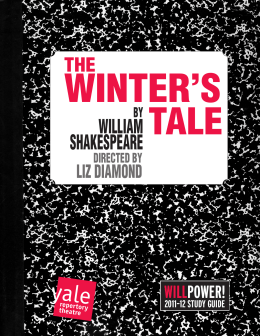 Winter's Tale - Study Guide