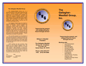 Brochure (Adobe PDF - Gallagher
