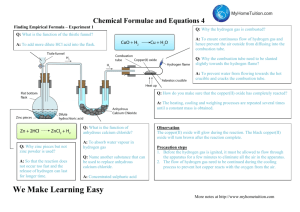 Chemical Formulae and Equations 4 We Make Learning Easy
