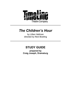 The Children's Hour - TimeLine Theatre Company