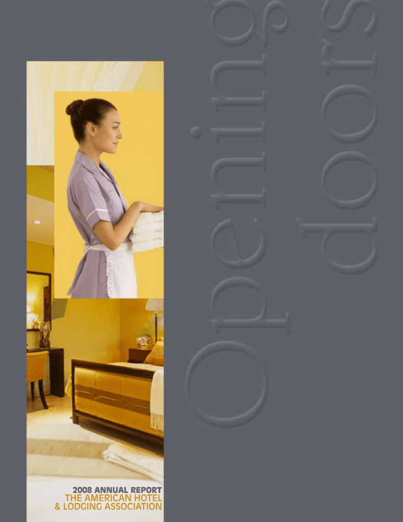2009 Annual Report - American Hotel & Lodging Association