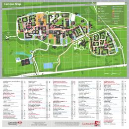Lancaster Uni Map Campus Map   Lancaster University Lancaster Uni Map