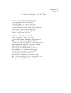 The Second Coming — W. B. Yeats