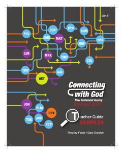 Connecting with God-A Survey of the New Testament Teacher
