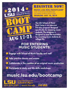 music.lsu.edu/bootcamp