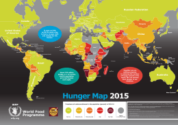 Hunger Map 2015 - World Food Programme