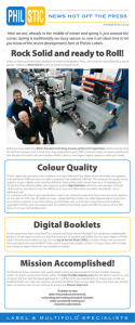 Rock Solid and ready to Roll! Colour Quality Digital Booklets