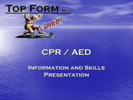 CPR / AED - Top Form