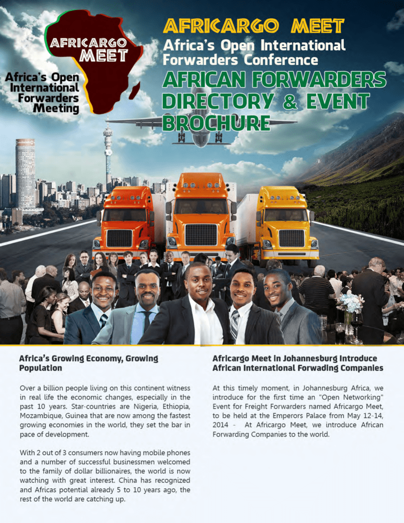 the african forwarders directory now!