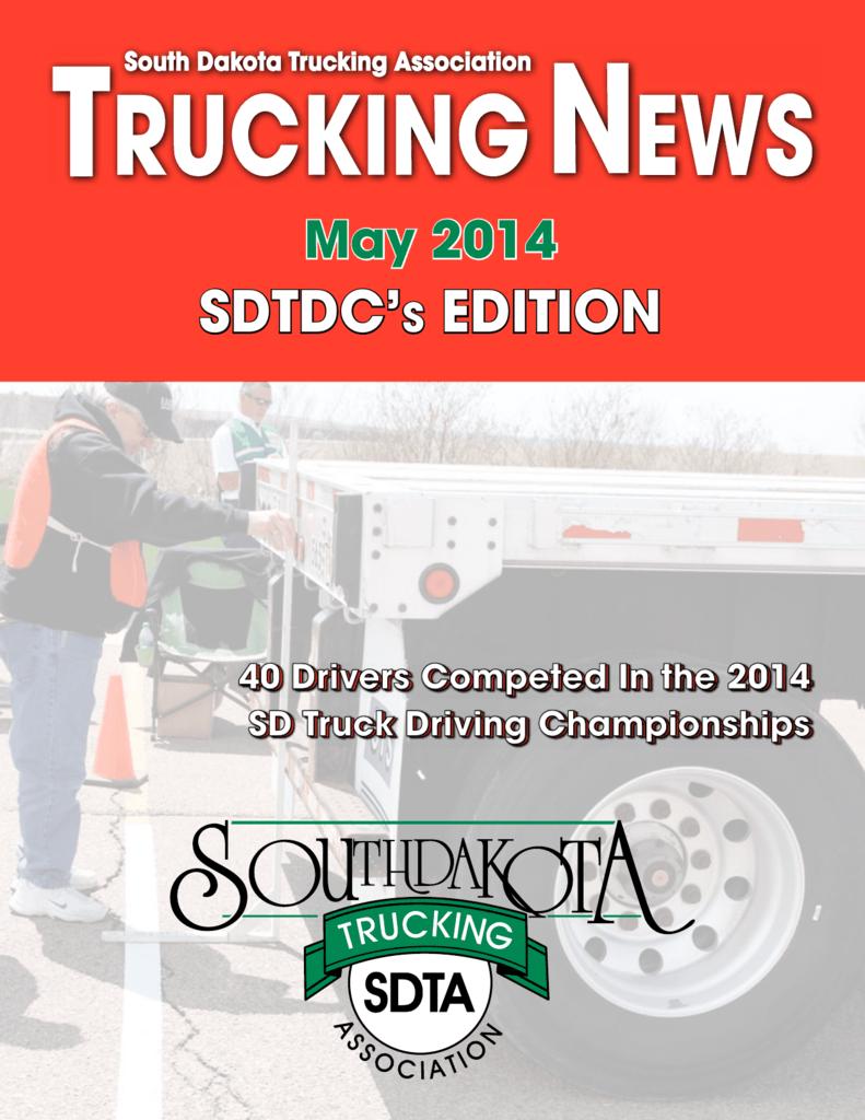 SDTDC'S EDITION - South Dakota Trucking Association