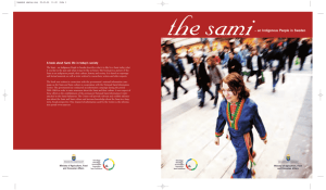 the sami – an Indigenous People in Sweden