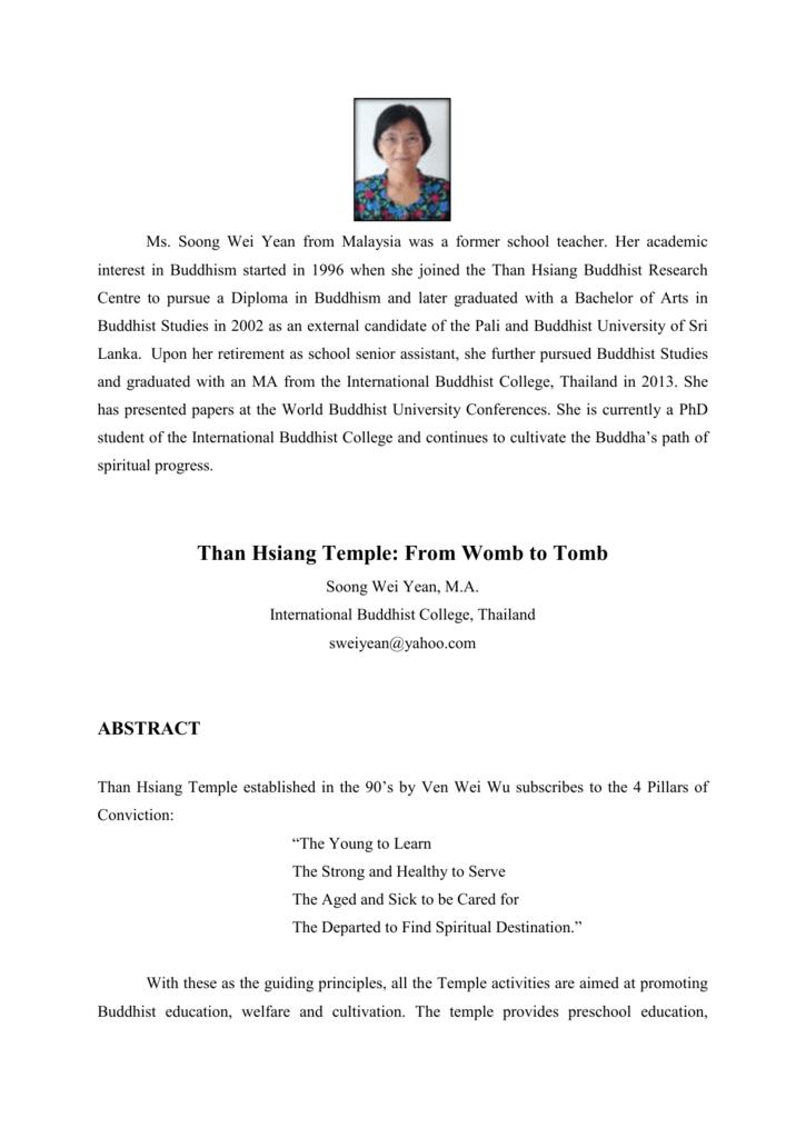 buddhism paper topics