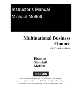 Multinational Business Finance Thirteenth Edition