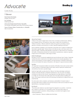 seven eleven case study In order to maintain its competitive advantage, 7-eleven developed a technologically savvy approach to marketing and capacity planning specifically, the convenience store giant established an information analysis environment to gather valuable business insights from point-of-sale data, including sales reports —as a.