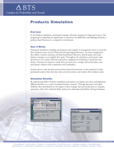 Products Simulation