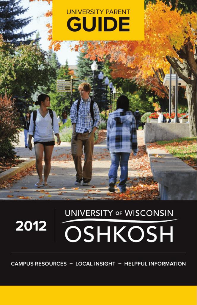 Uw Oshkosh Guide Universityparent